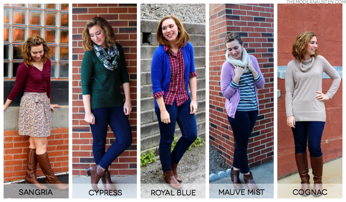 Fall 2014 Pantone Inspired Color Challenge Recap