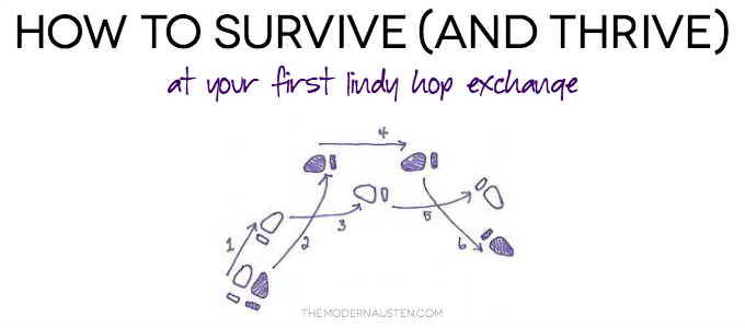 How to Survive and Thrive at your first Lindy Hop Exchange