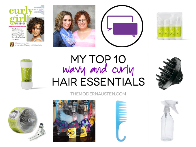 My Top 10 Wavy and Curly Hair Essentials