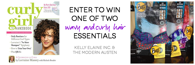 Wavy and Curly Hair Essentials Giveaway