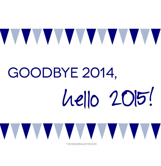Goodbye 2014 Hello 2015