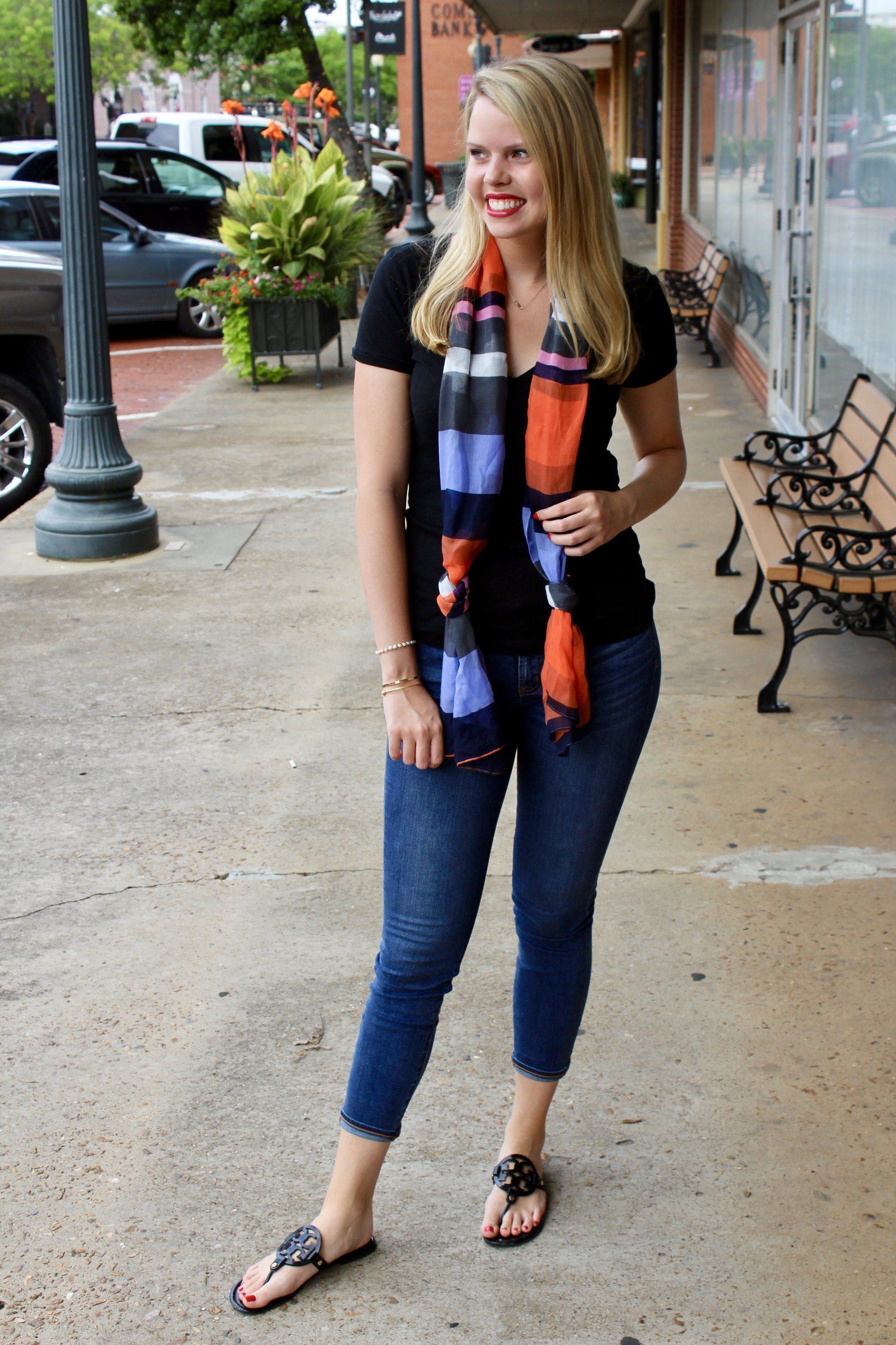 Styling a Plain Tee