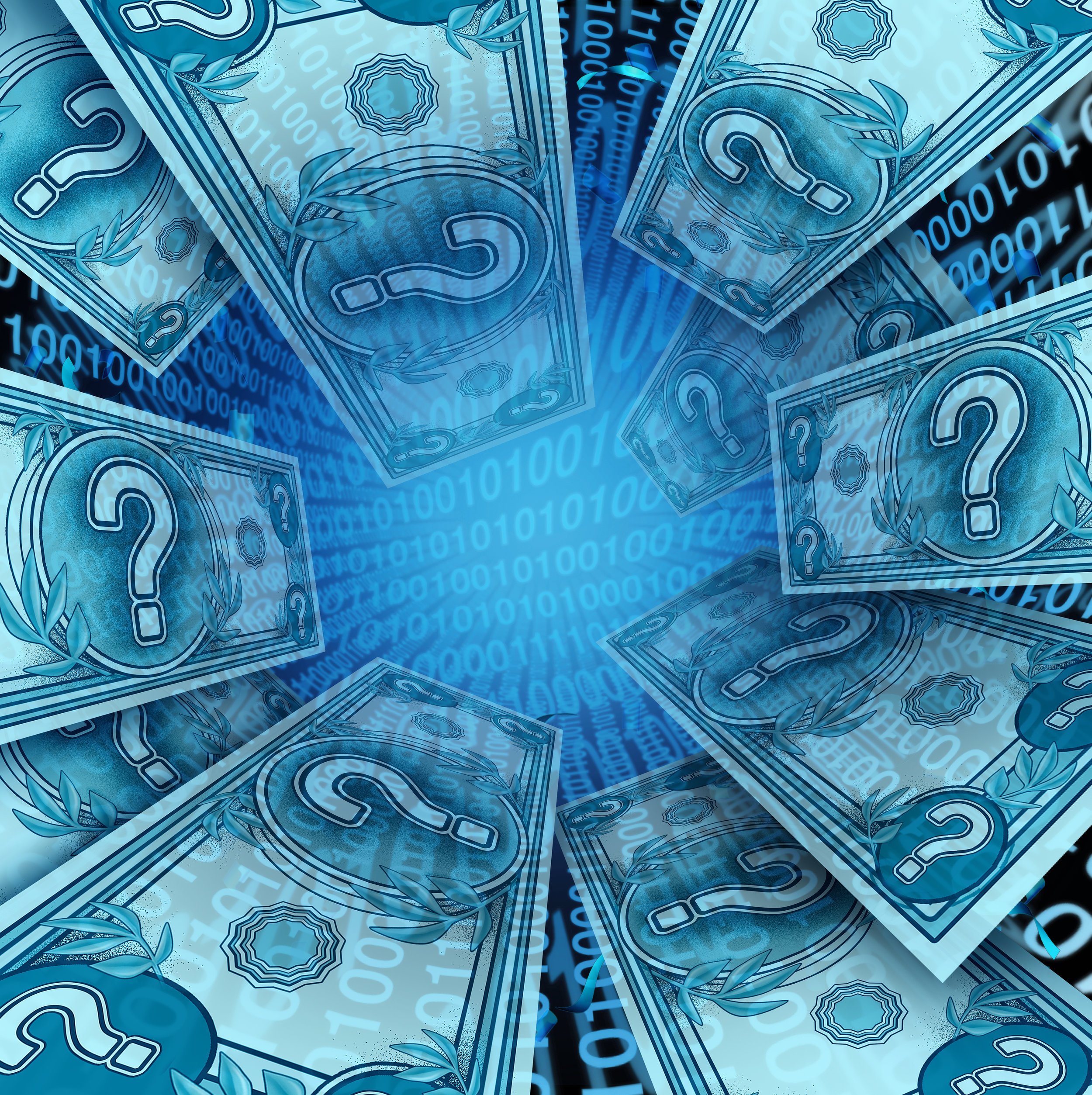 when will the US dollar become virtualized?  (Getty Images license)