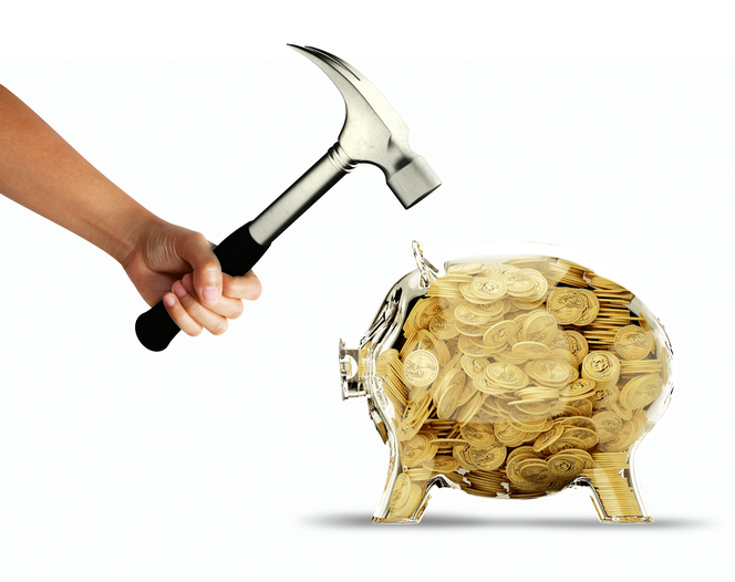 its hammer time? banks are juicy targets for seasoned NPEs (Getty Images license)