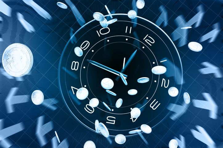 time is money & patent litigations are time-drainers (Getty Images license)