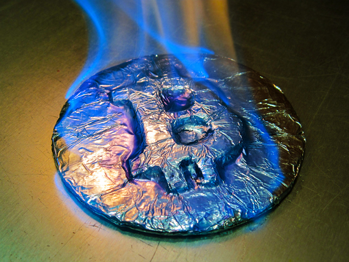 - Bitcoin is on fire breaking US$11,000 last week. (Getty Images license)