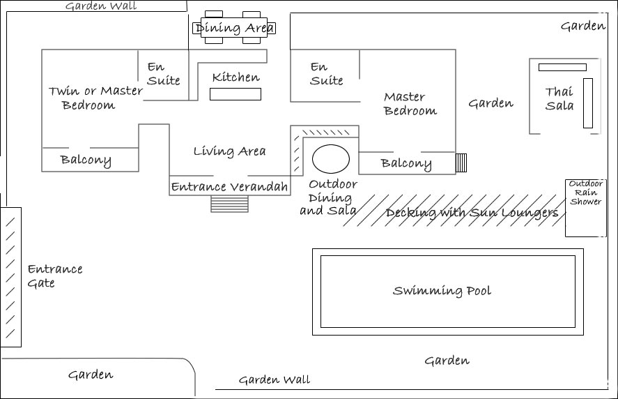 Baan Jasmine floor plan: click to enlarge