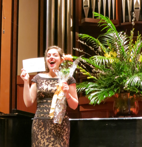 Nicole Haslett wins regional rounds of Metropolitan Auditions