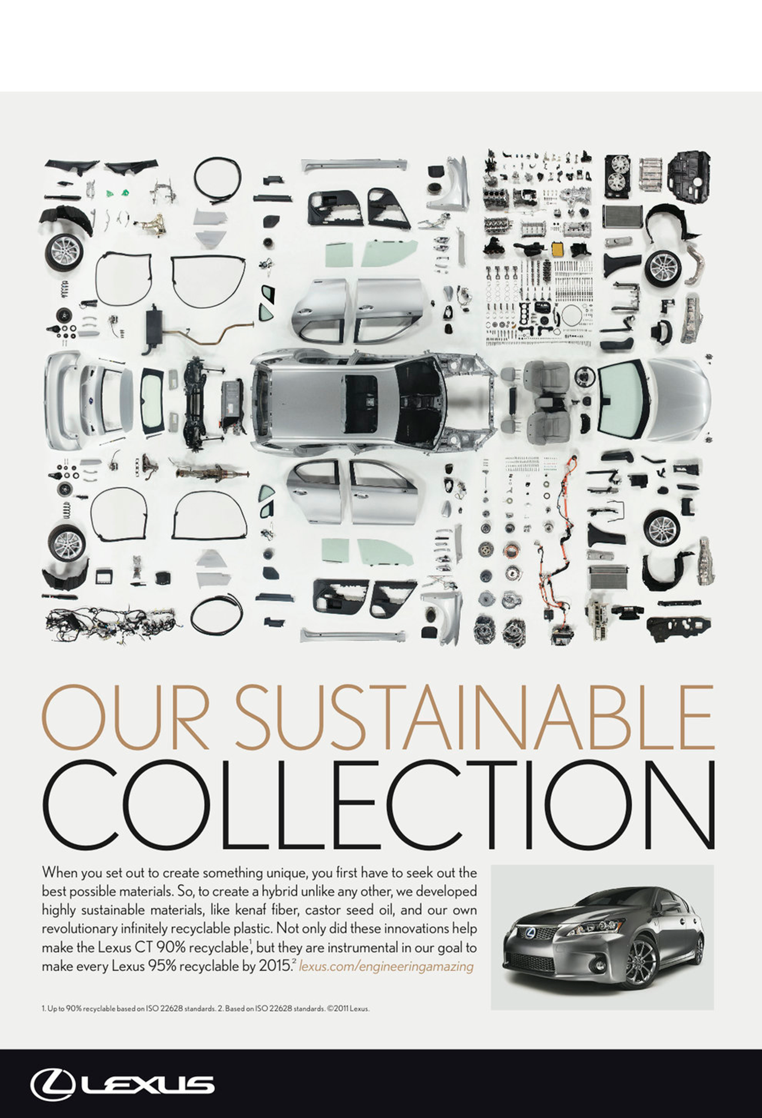 Lexus' first sustainable collection.