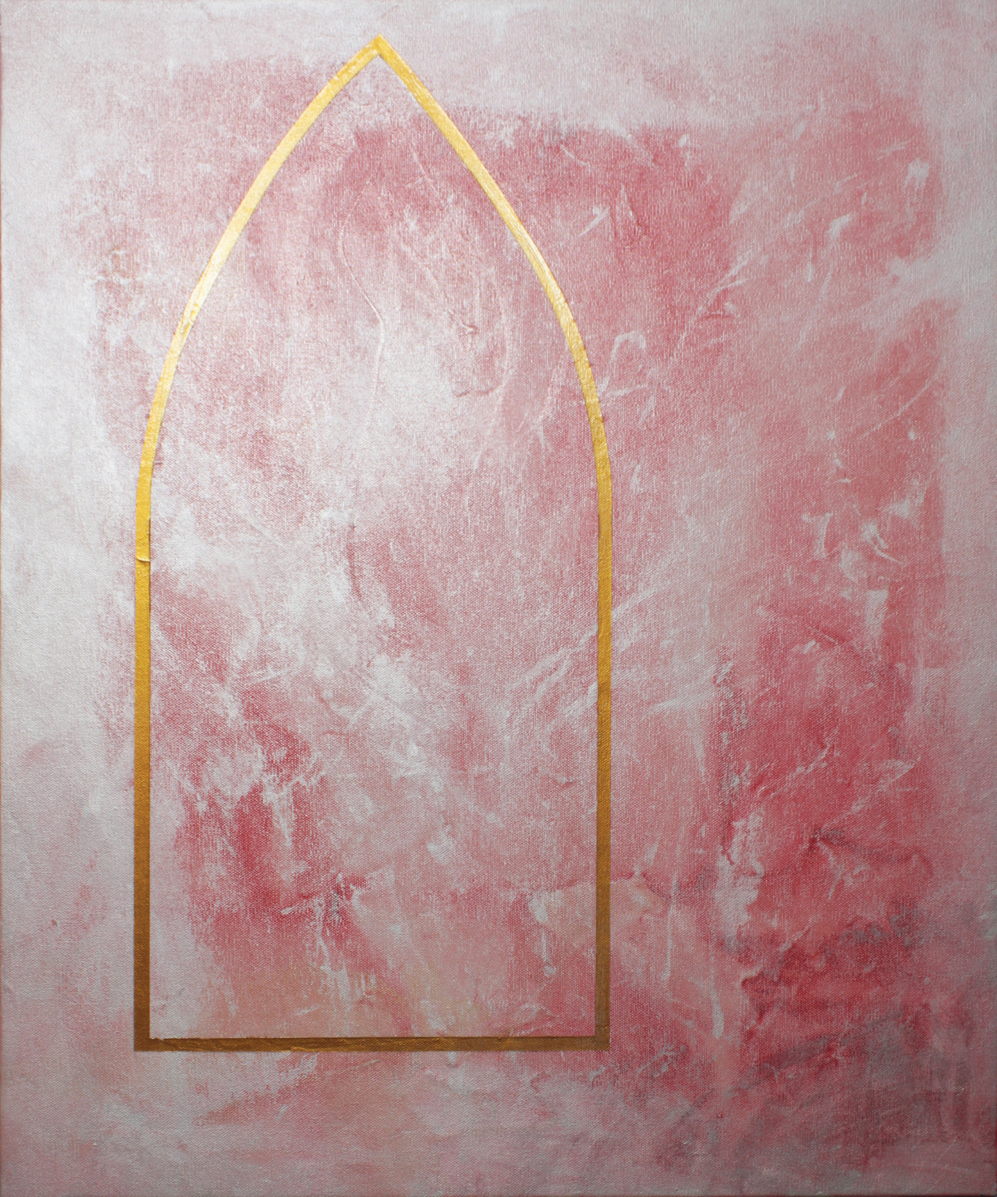 A Hope , 2014, acrylic on canvas, 61x51cm.  Finalist in the 2014 Religious Art Prize, Chapel on Station Gallery, Box Hill.