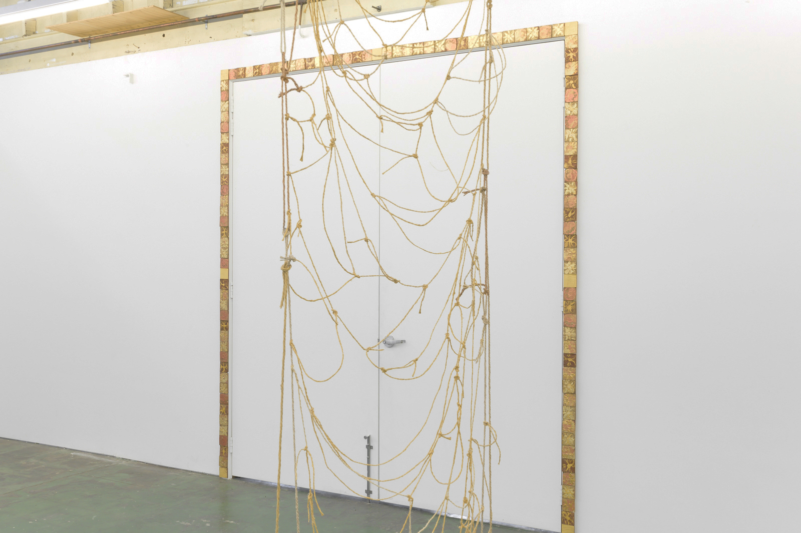 Malleable details , Schoolhouse Gallery, Collingwood, Aug-Sep 2019.  Image: Aaron Christopher Rees