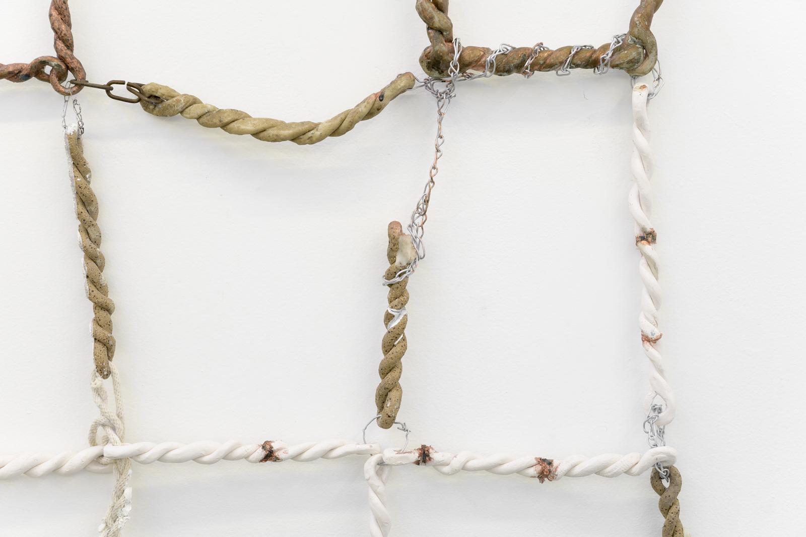 Jordan Mitchell-Fletcher,  Untitled (Chain 1)  (detail), 2019.  Image: Aaron Christopher Rees
