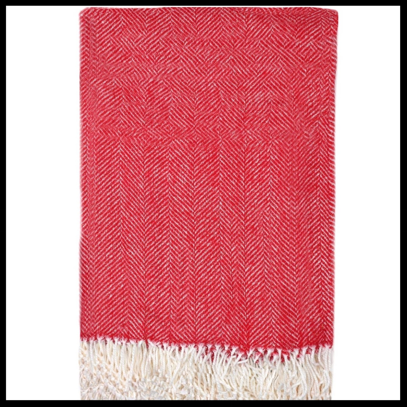 Herringbone Throw Blanket Threshold™ - $18.99 - The masculine herringbone weave pattern and festive red hue make this throw a great gift for even the manliest of men. Did I forget to mention that it's easy to care for? This throw blanket is totally machine washable.