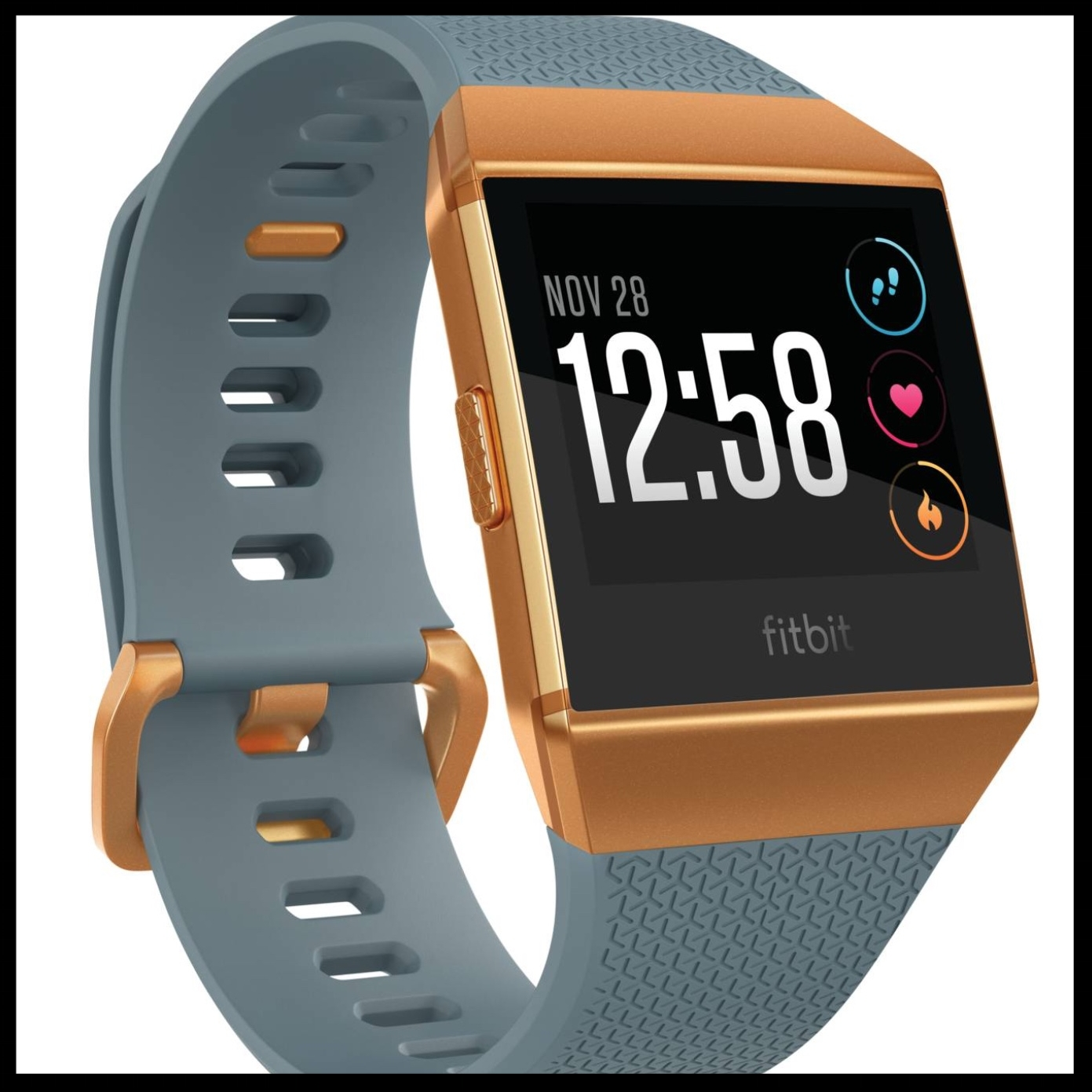 Fitbit Ionic Smartwatch - $269.95 - With its durable band and spectacular HD display face, this Fitbit Smartwatch will make an impressive gift!