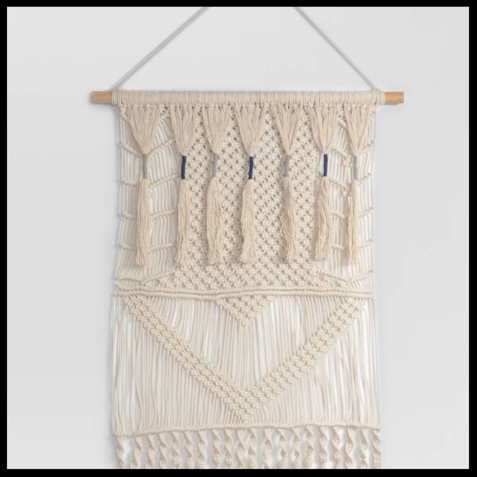 Macrame Wall Tapestry Threshold™ - $52.24 - For the #bohobabe in your life, this Macrame Wall Tapestry is a holiday MUST!