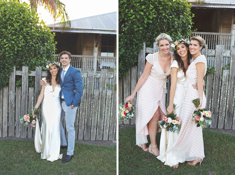 Yandina Station Bridal Party