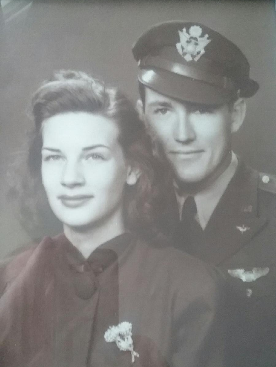 Eric's parents, Dale and Dolores Scott.