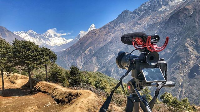 Our director Steven, is currently trekking towards Everest Base Camp. Here is Mount Everest in all her glory!