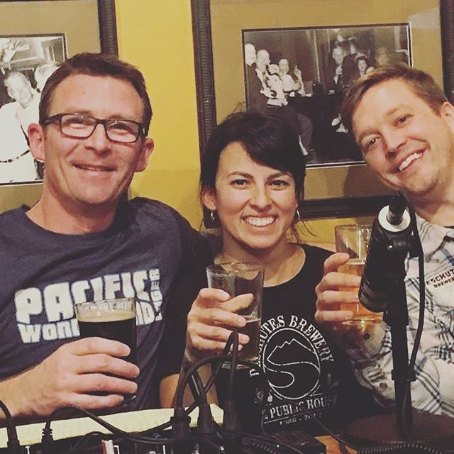 Don't miss our next beerpod #34 with @teddybrunson & @deschutesbeer . Coming soon! Check out all of our current #podcasts on our website    thebeerpod.com listen & subscribe today! #WatchThisSpace
