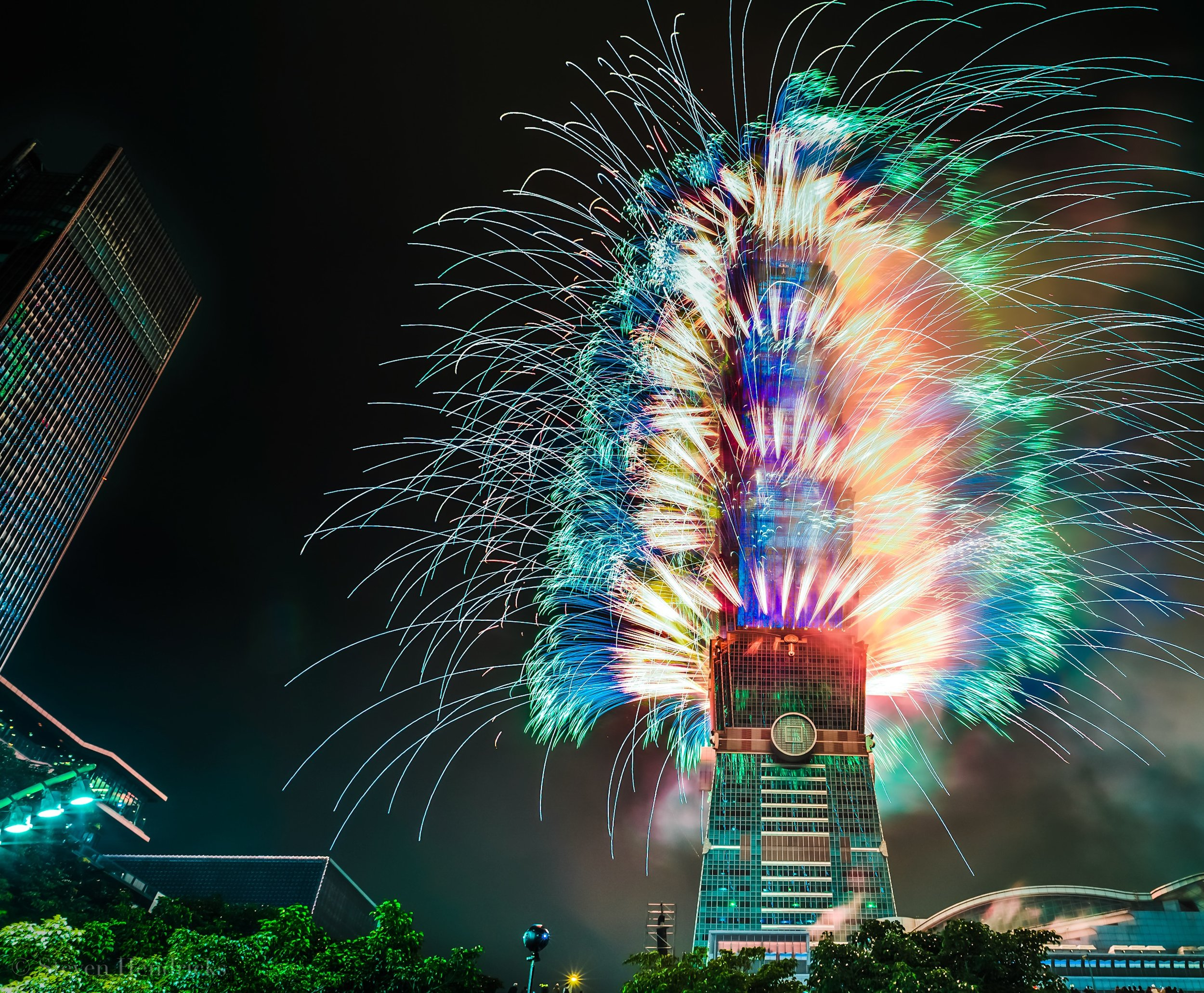Taipei 101 New Years Celebration 2018