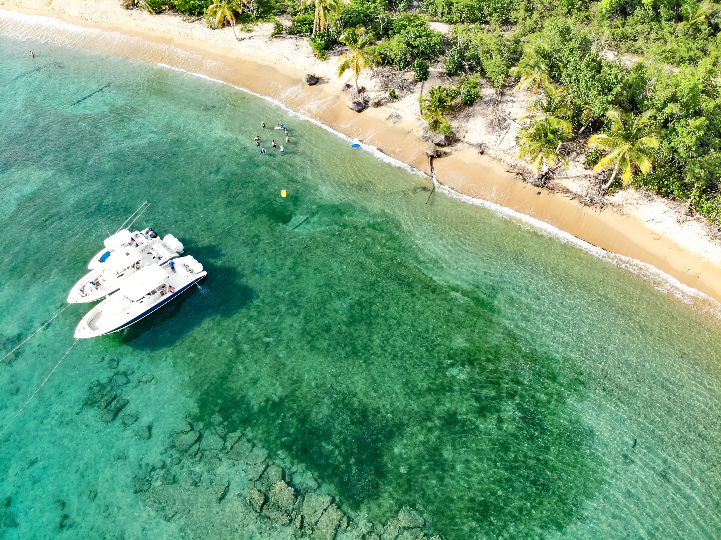 Drone Shot of PR Beach