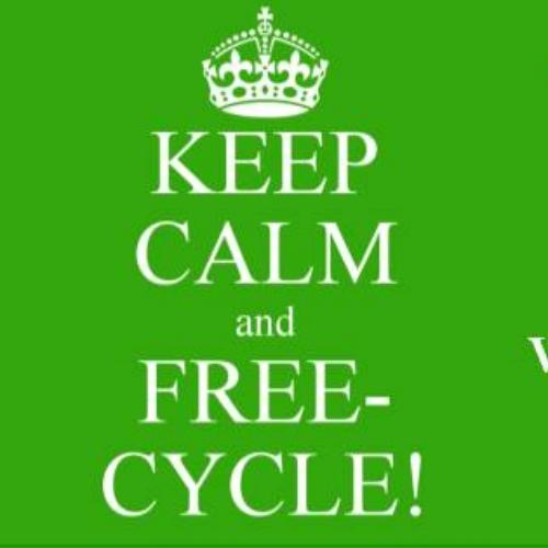 Facebookgroep 'Free & recycled antwerp'