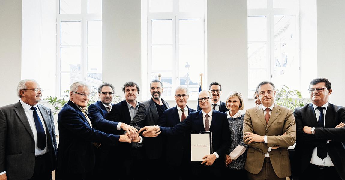Ondertekening Toekomstverbond (voorjaar 2017)