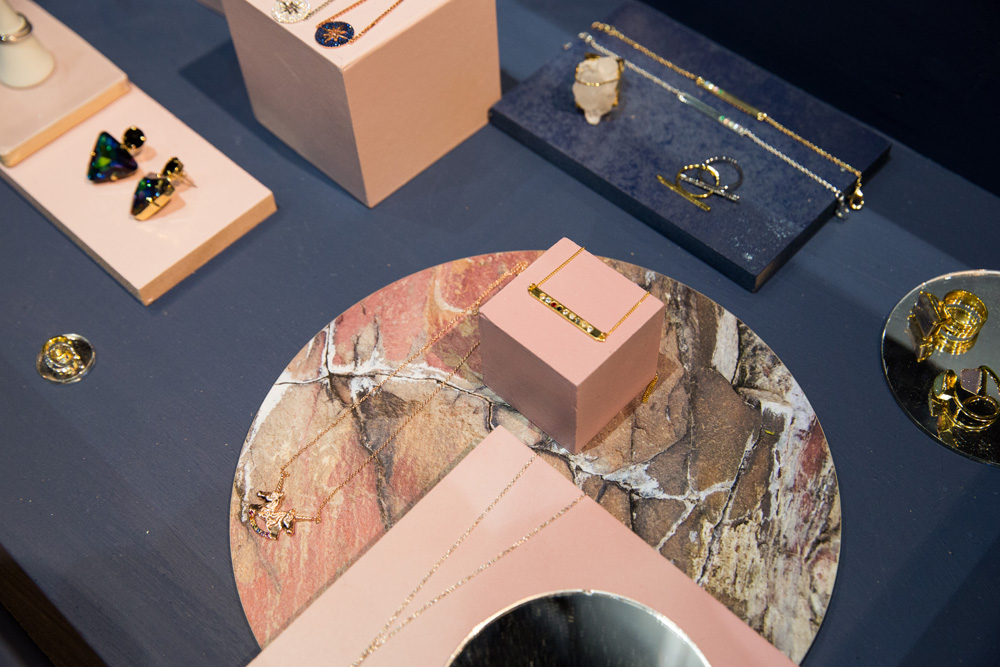 Our stunning Earth placemats used here to display some beautiful jewelry!
