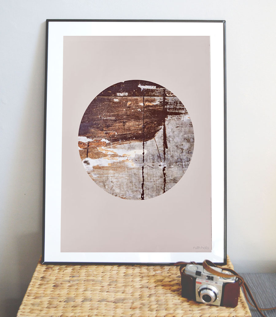 Eclipse wall art, abstract art