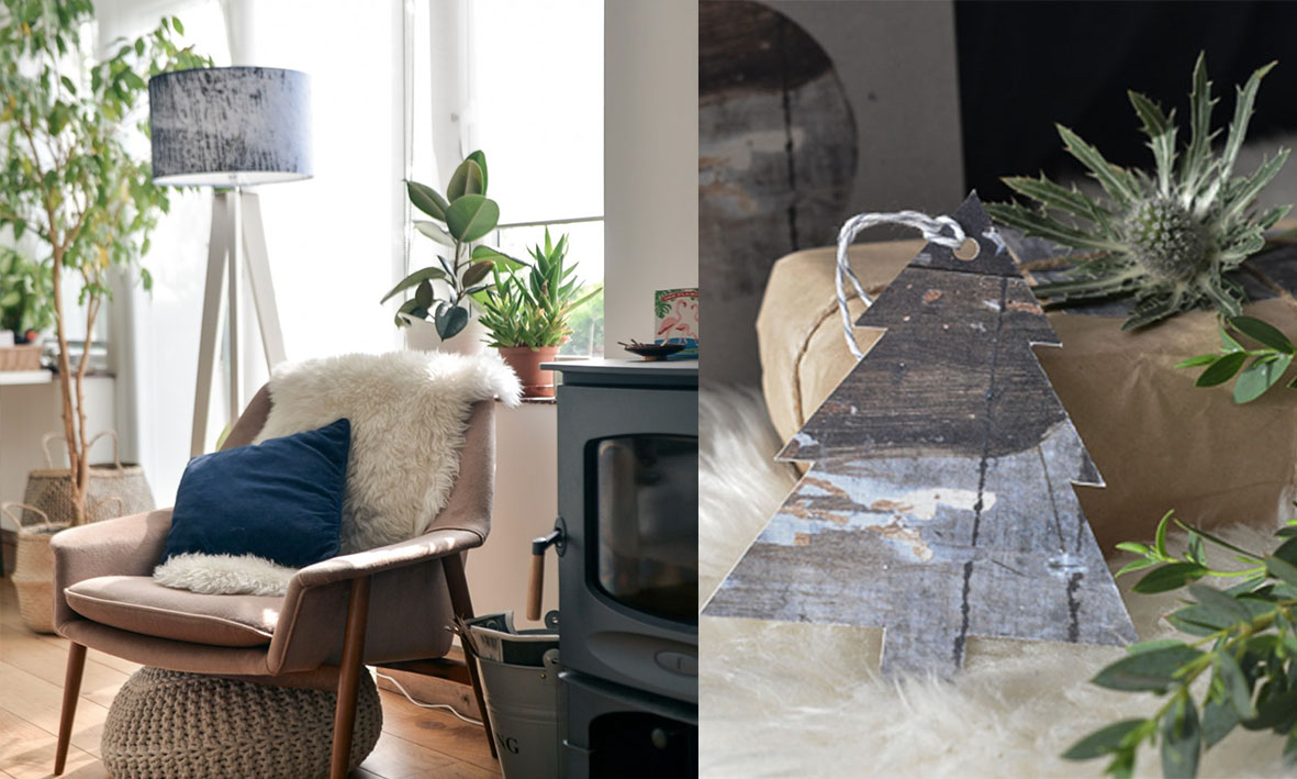 Lapin Blu Blog - This beautiful blog has featured our products twice now, more recently our Breeze Blue linen lampshade, in her article called 'Shedding Light', you can read more here :)In another piece our Christmas giftware & tags were highlighted here :)