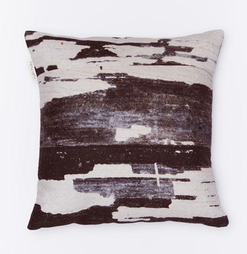 Monochrome Linen Cushion