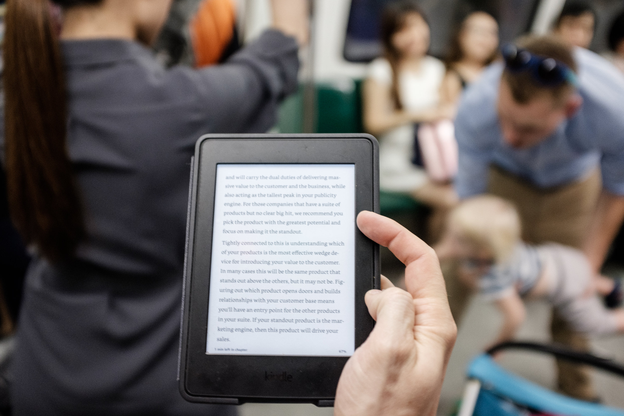 Commute with Kindle