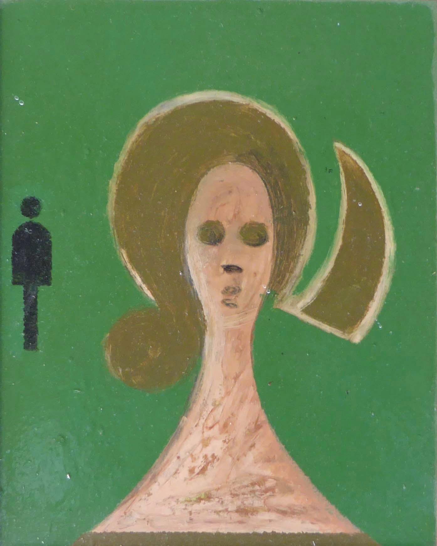 Girl's head