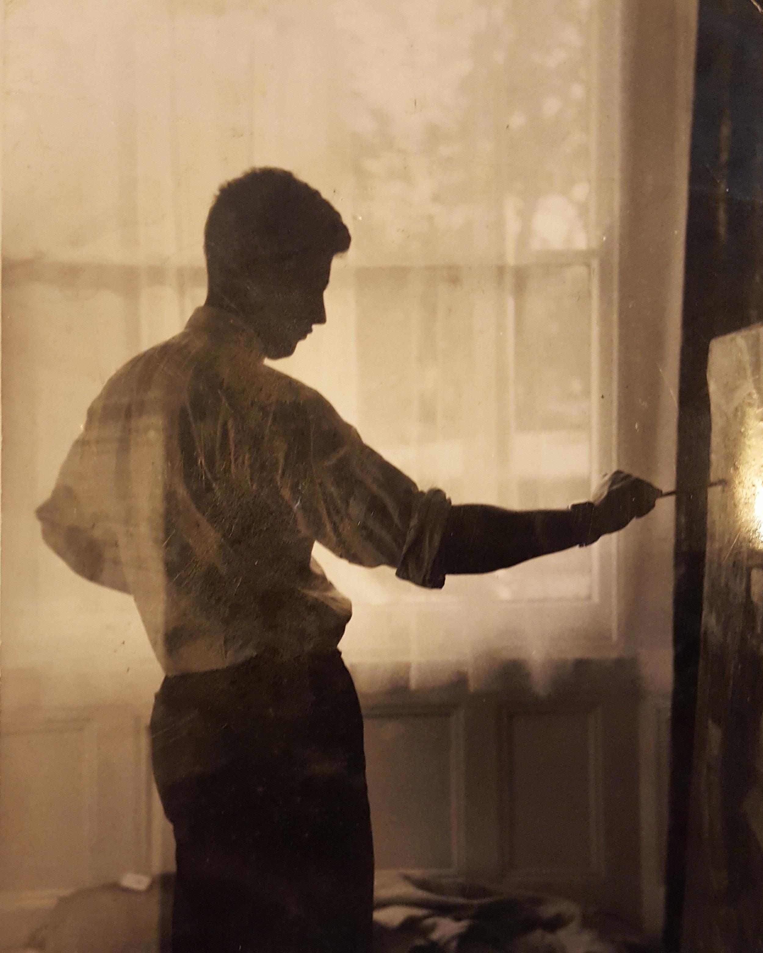 John Falcke painting 1950s
