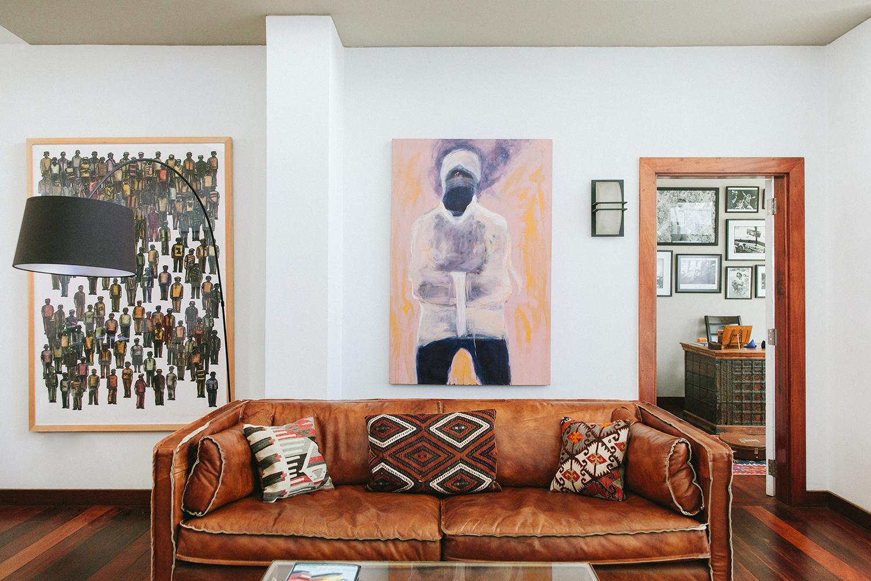Artwork: Beatrice Wanjiku (center)