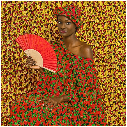 "Omar Victor Diop ""Studio of Vanities - Aminata""  Photo by Magnan Metz"