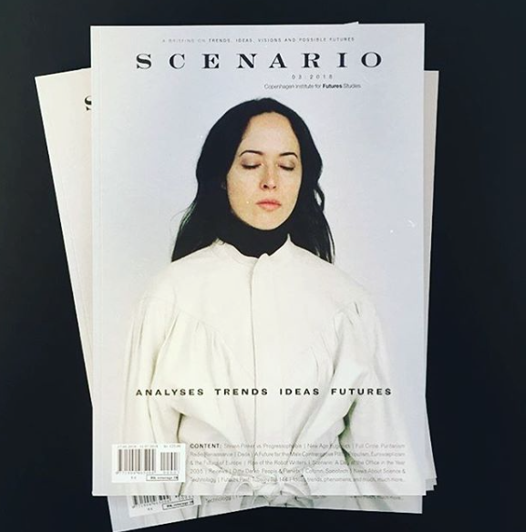 FEATURED ARTIST In SCENARIO MAGAZINE - Featured in Scenario Magazine, published by the Future Research Institute (2018)