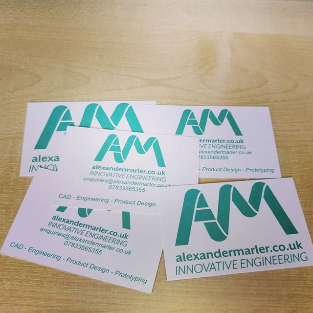 New business cards sorted!