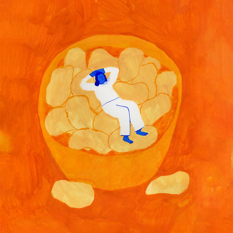 Ode To Potato Chips- For Illustoria