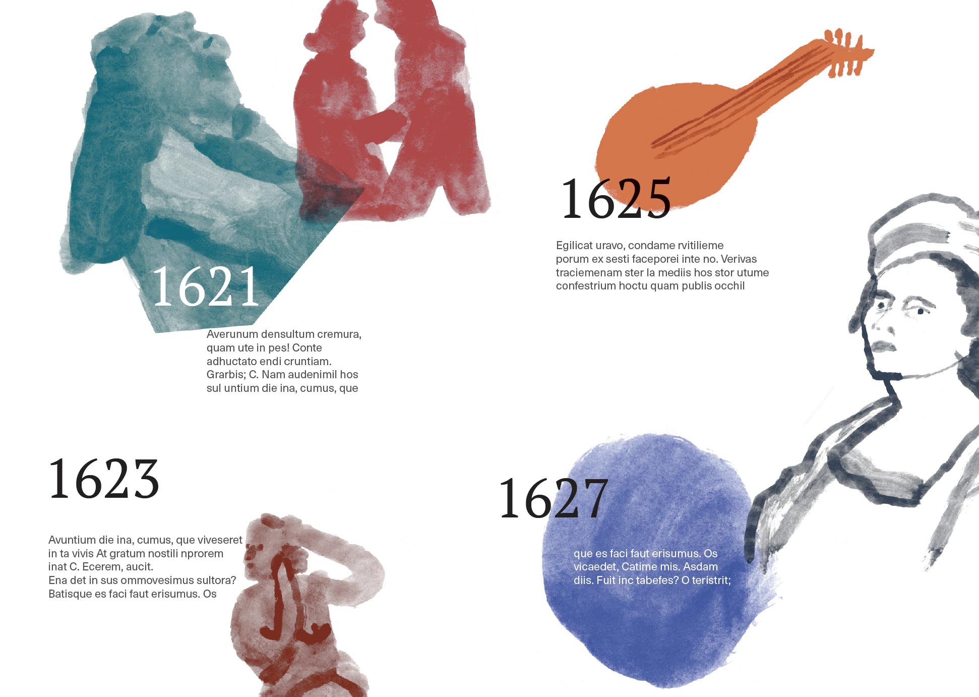 Artemisia Gentileschi Timeline Charlotte Ager Illustration