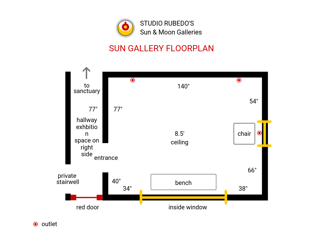 Get the Sun Gallery Floor Plan by clicking the  button below.