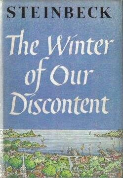 All this talk of content only makes me think of discontent and its corresponding winters.