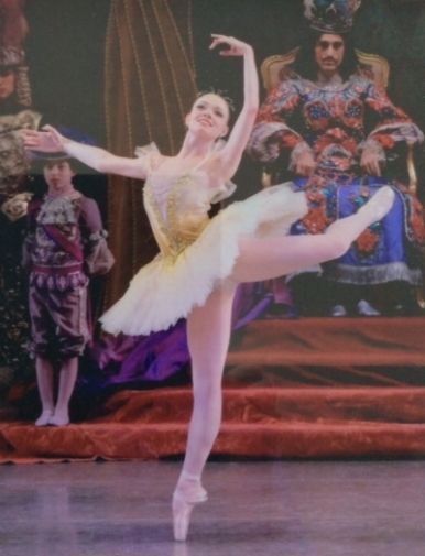 And now she is a dancer with New York City Ballet