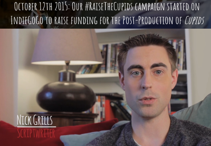 Our second campaign, Raise the Cupids, raised funds for post-production