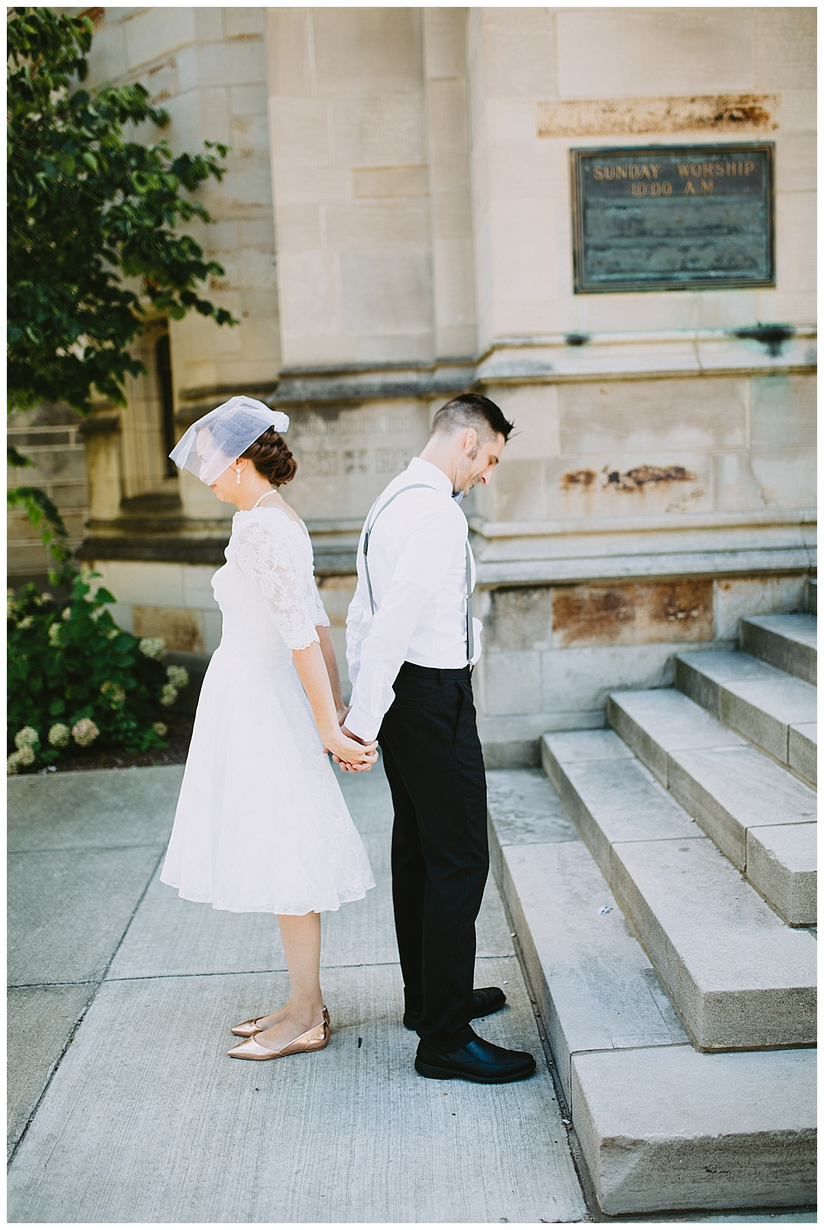 Kalamazoo michigan elopement wedding
