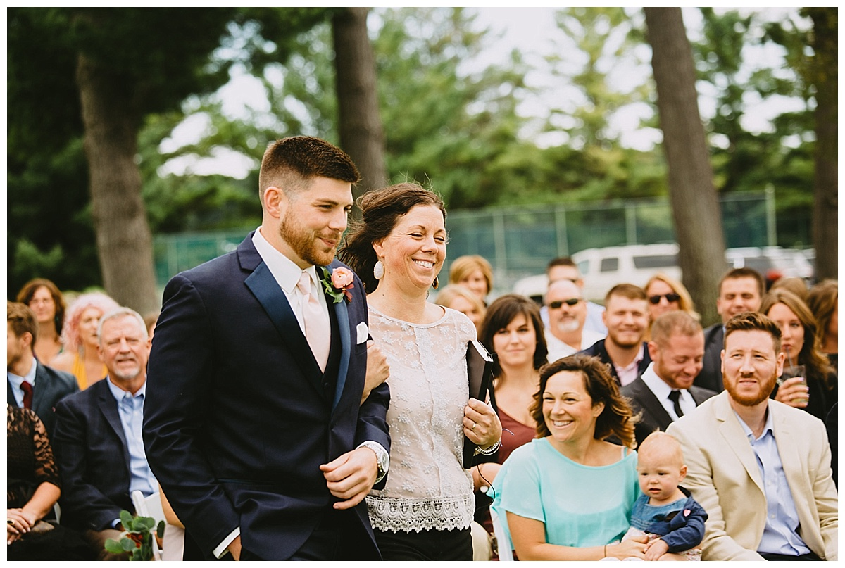 Boyne Mountain Wedding Ceremony