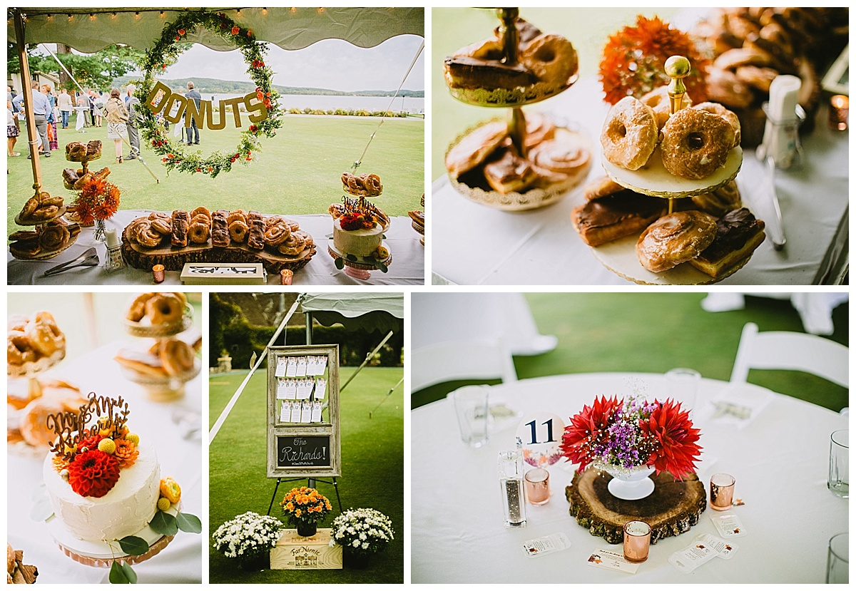 Wedding Donuts reception