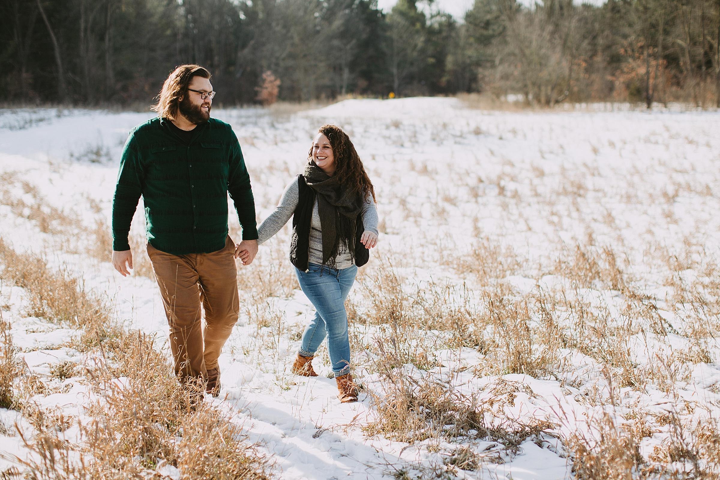 Kalamazoo Michigan Wedding and Engagement Photographer