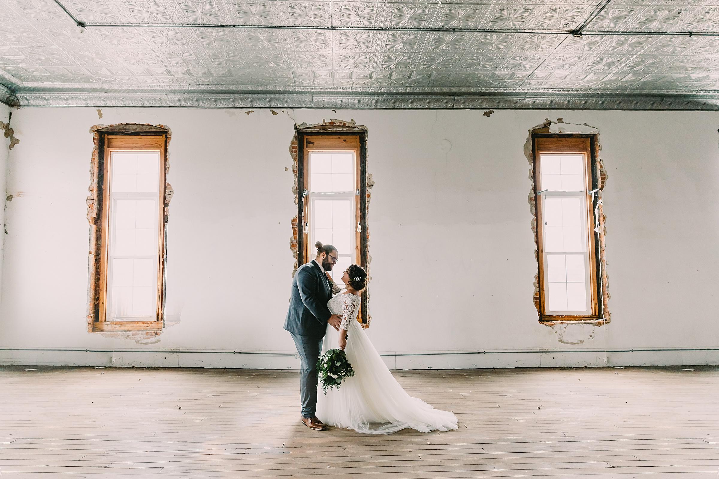 christmas wedding winona lake wedding photographer