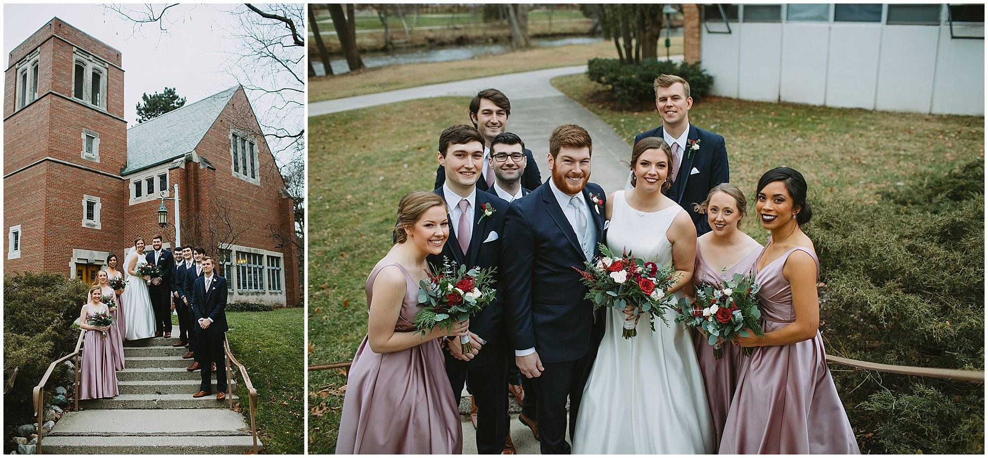 Michigan State Alumni Chapel Wedding